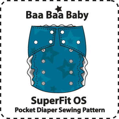 SuperFit OS Pocket Diaper Pattern