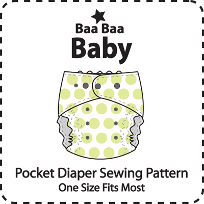TrimFit OS Pocket Diaper Pattern